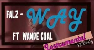 Instrumental: Falz - Way ft Wande Coal